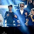 <b>Andrea</b> Bocelli est le chanteur italien le plus populaire