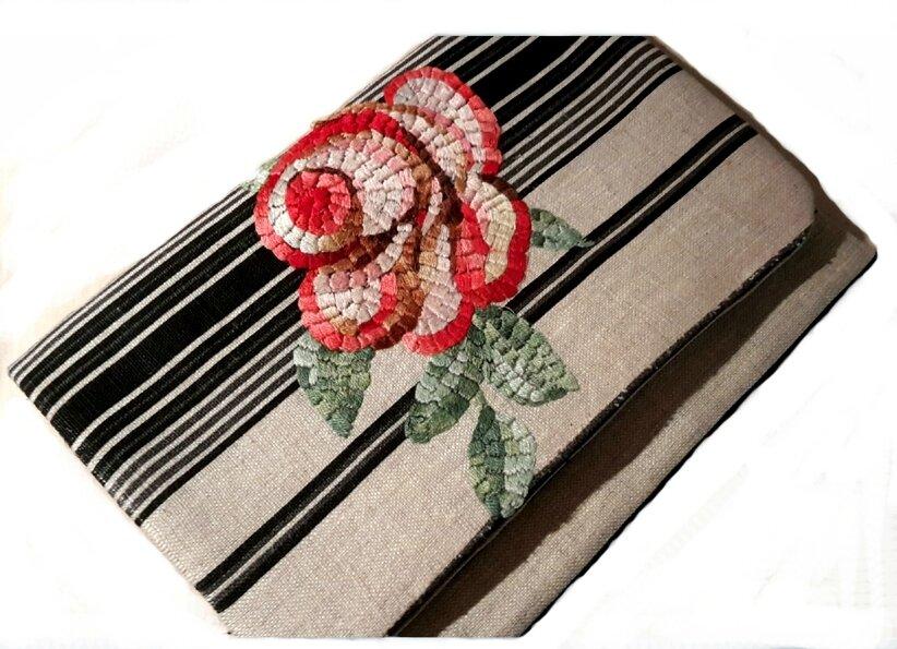 sac 34 rose mosaique a