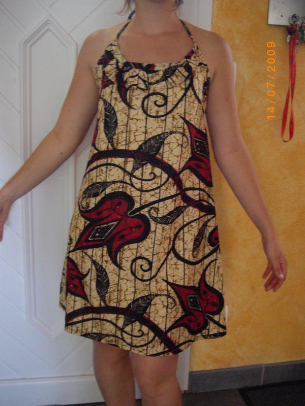 Premier ouvrage d'une Fée Passa, une robe N