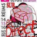 Congrès du parti socialiste - ag de motion