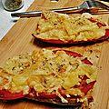 Tartine aux trois fromages façon pizza