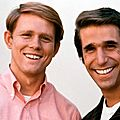 Ron Howard and Henry Winkler