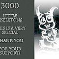 3000 personnes aiment My Friend Skeleton