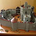 Maquette d'un château