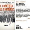 Le cimetière des chimères - elena piacentini