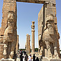 Iran - Histoire et architecture (2/19). Mèdes, Perses et Achéménides (- 559 / - 330) - <b>Persépolis</b>.