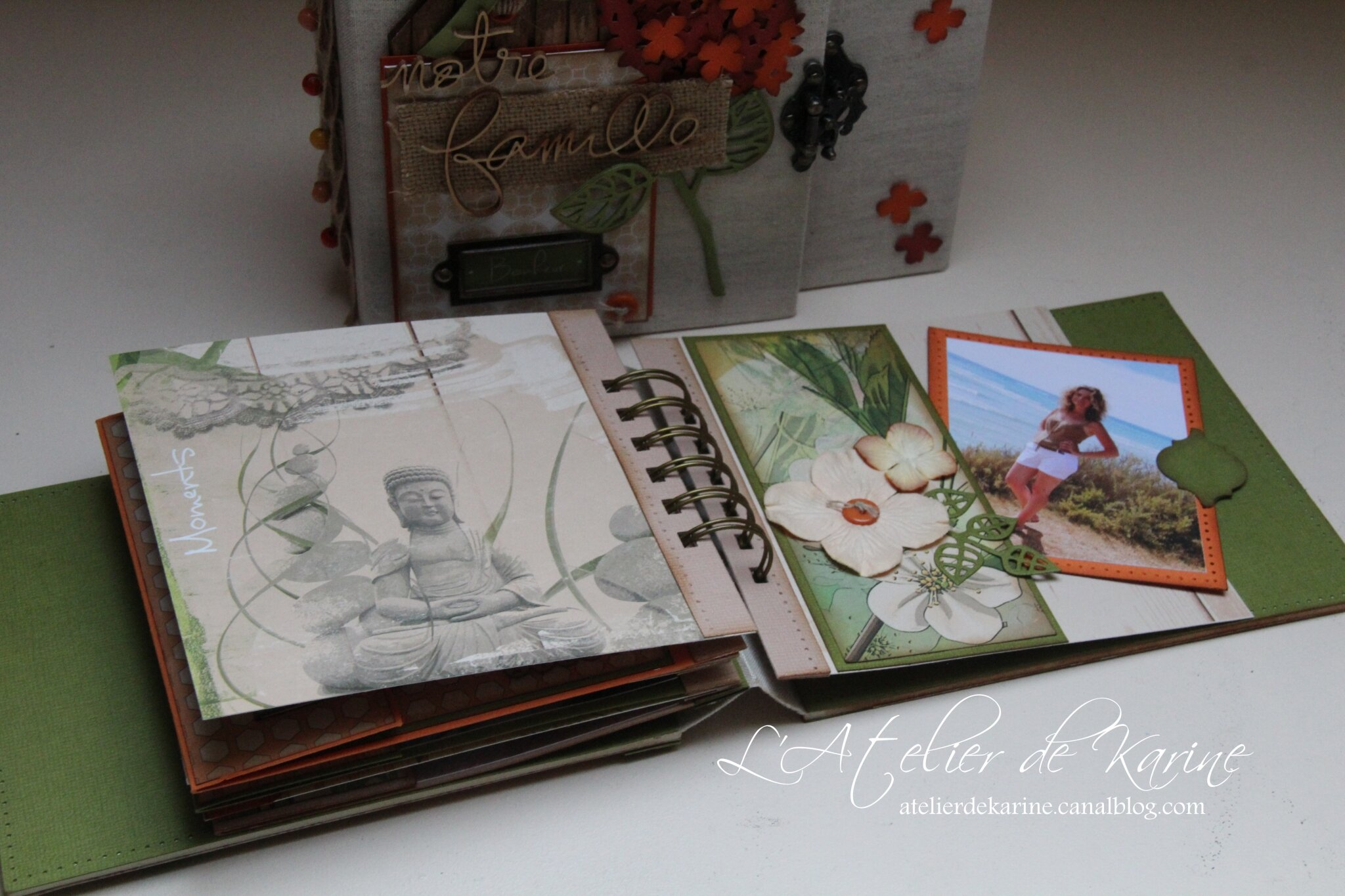 Mini Album et son coffret - Pure Lorelaïl Design 39