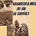 Grandeur et misère du vin de banyuls