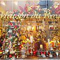 Paris, vitrines et illuminations de fêtes