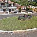 Rond-point à Igrejinha (Brésil)