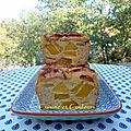 Cake de pudding pommes & noisettes