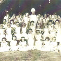 Ecole communale, Sainte-Foy, années 1940