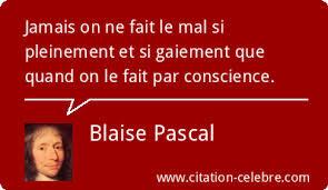 Citation Blaise Pascal