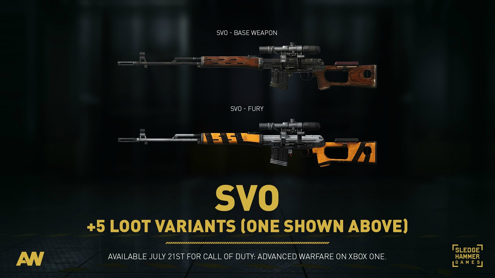 Call of Duty : Advanced Warfare : 3 nouvelles armes !