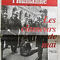 Mai 68, <b>Krivine</b>, Bensaïd et Leroy sur L'Humanité... en 1998