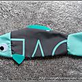 Carpe Koï en tissu ou