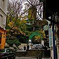 Instantané rue Tholozé.