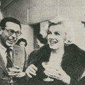 26/02/1959 marilyn reçoit l'etoile de crystal