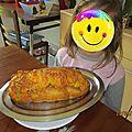 Cake au jambon et a la mimolette
