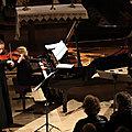 Tauriac de <b>Camarès</b> : Clarinette - Violon - Piano