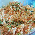 Taboulé d'hiver carotte et chou fleur