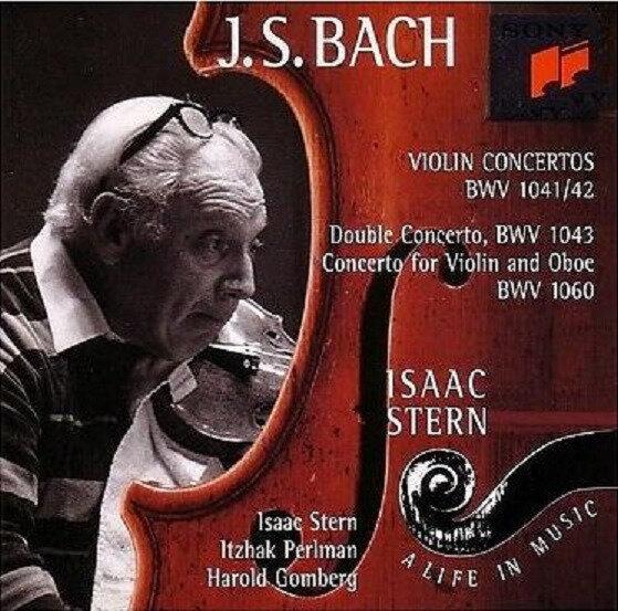 Vinyle Bach Isaac Stern