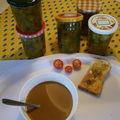 Première tartine ce matin au Tit'Dej. un régal...