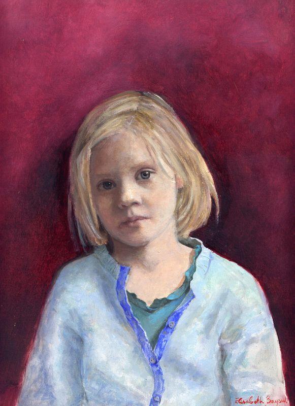 Lola (24 x33 cm ) huile sur toile