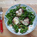 Raclette en salade pour un défi