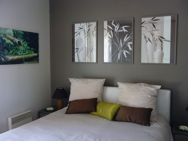 Photo   Photo De Chambre Parentale Ambiance Zen  DecorIn Ides