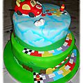 Gâteau <b>tut</b> <b>tut</b> bolide