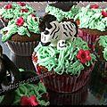 Cupcake savane