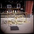 Le vélo doré