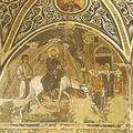 Entrée à Jérusalem - HOSIOS LOUKAS - GRECE