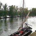 Futreau de Loire accosté à Orléans