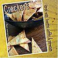 Crackers farine de maïs tomates confites & parmesan