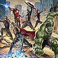 The avengers, encore des promo arts