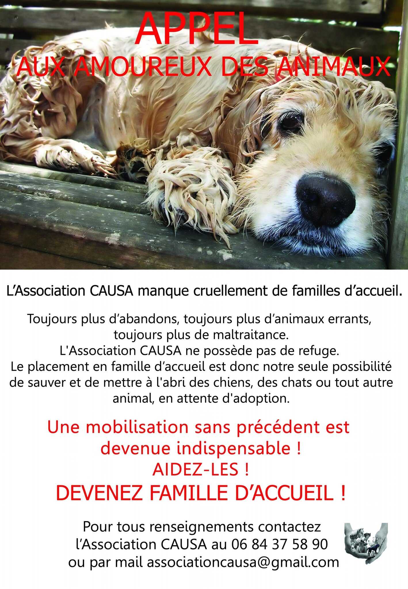 Urgences CAUSA !!!