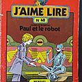 Livre Collection ... <b>J</b>'<b>aime</b> <b>lire</b> (1980) * Numéros 40 à 49