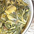 Haricots verts à la poêle