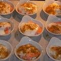 Cassolette de crevettes au curry