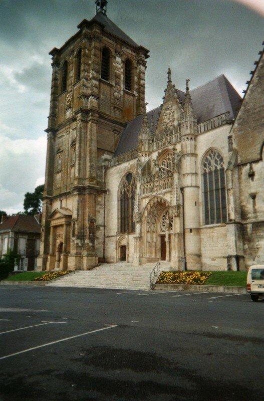 L'église St Nicolas à Rethel