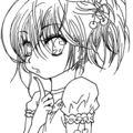 Hop un petit fan art de amu ( shugo chara ) je le