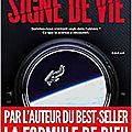 JR Dos Santos, Signe de vie, HC édition 2018, 697 pages