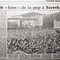 l'Open Air festival de Sarrebrück: c'était le <b>3</b> septembre 1978!