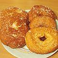 Donuts d'oh (doughnuts) à la map