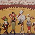 Les Fables de La Fontaine Auzou