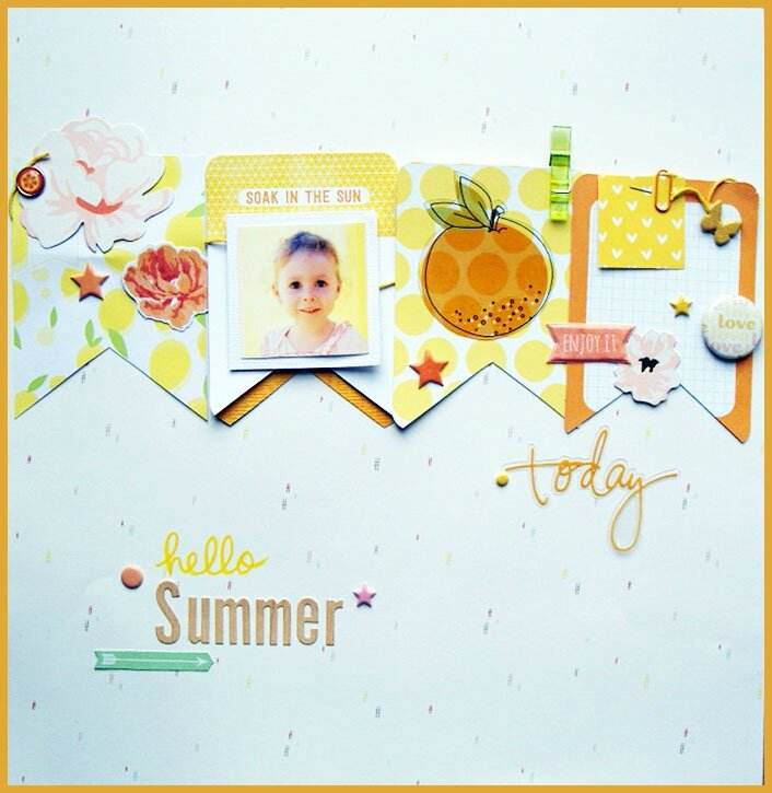 "Challenge 52RSC - S192 ""Hello Summer"""