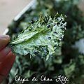 Chips de chou kale (le chou chou du moment !)
