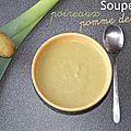Soupe poireaux - pomme de terre (cookeo)